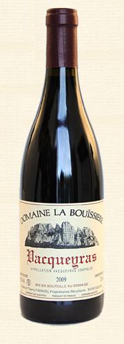 Bouïssière, Vacqueyras Vieilles Vignes, rouge