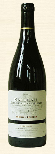 Tardieu-Laurent, Tardieu Laurent, Rasteau, Vieilles Vignes, rouge 2000