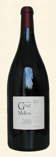 Gourt de Mautens, CdR Villages rouge, Magnum 2003