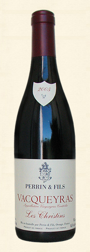 "Perrin, ""Les Christins"" Vacqueyras rouge 2005"