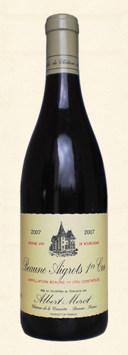 "Morot, Beaune 1er Cru ""Les Aigrots"", rouge 2007"