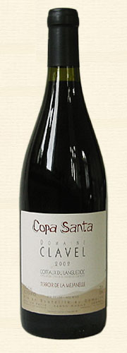Pierre Clavel, Pierre Clavel, La Copa Santa, rouge 2002