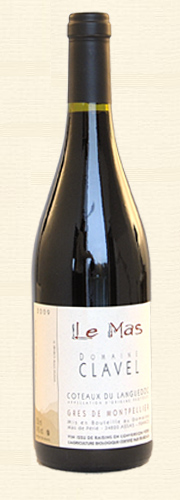 Pierre Clavel, Le Mas, rouge 2010