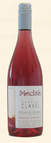 "Pierre Clavel, Pierre Clavel, ""Mescladis"", rosé 2007"