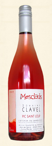 "Pierre Clavel, ""Mescladis"", rosé 2009"