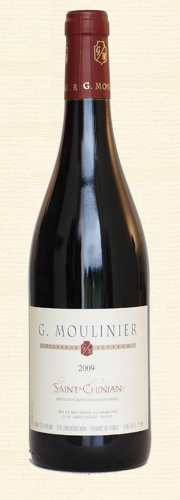 "Moulinier, ""Tradition"", rouge 2009"