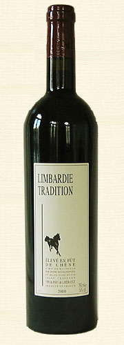 Limbardié, Tradition, rouge 2000