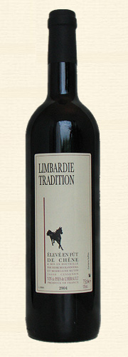 Limbardié, Tradition, rouge 2004