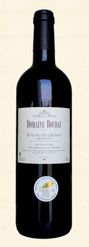 Boudau, Boudau, VDN Rivesaltes sur Grains, Vin doux naturel rouge 2006