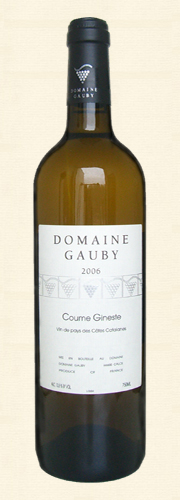 "Gauby, ""Coume Gineste"", V.d.P. Côtes Catalanes, blanc 2006"