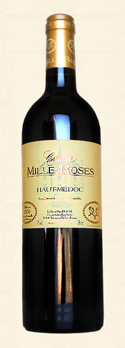 Château Mille Roses, Haut Medoc, rouge 2005