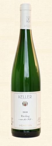 """Keller, Riesling """"von der Fels"""", trocken"""