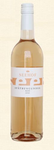 Seehof, Spätburgunder rosé, trocken