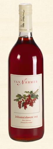 Van Nahmen, Johannisbeere rot, Roter Johannisbeernektar (35% Direktsaftanteil)