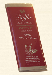 Dolfin, Chocolat Noir - 70% Kakao