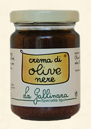 La Gallinara, Schwarze Olivencreme