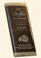 Dolfin, Edelbitter mit Kakaobohnen - 70% Kakao
