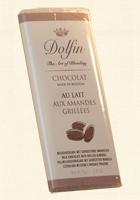 Dolfin, Edel-Vollmilch - mit gerösteten Mandeln