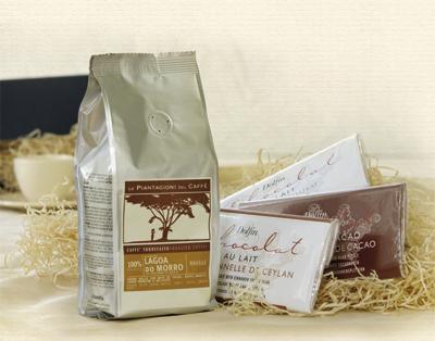 "Präsentpaket ""Chocolat & Café"""
