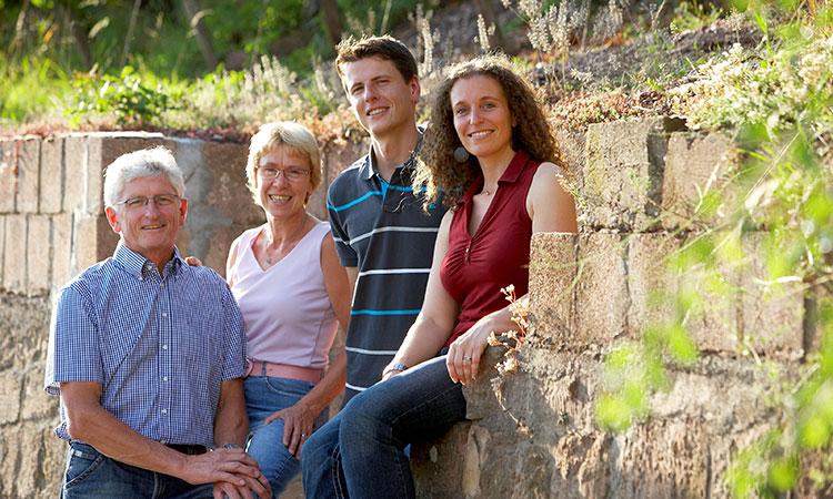Die Winzerfamilie Schönleber
