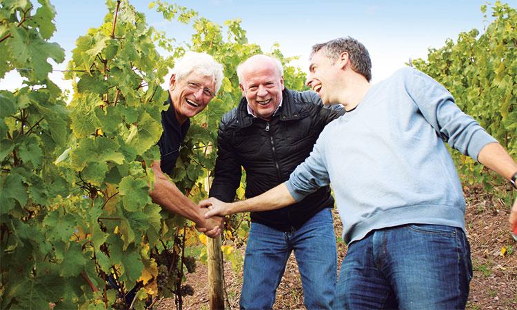 Werner Schönleber, Tino Seiwert und Ralf Zimmerman