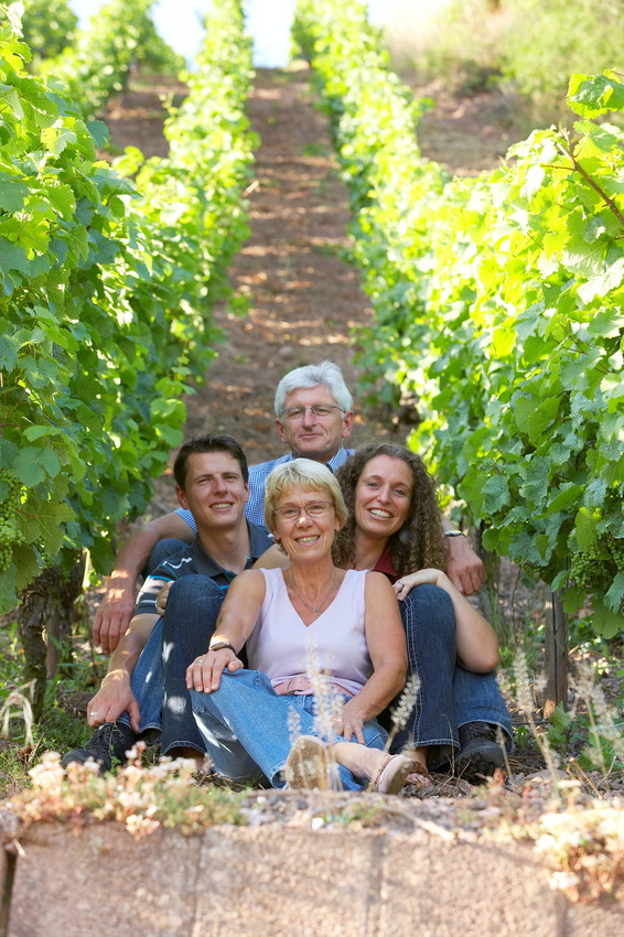 Werner Schönleber mit Familie
