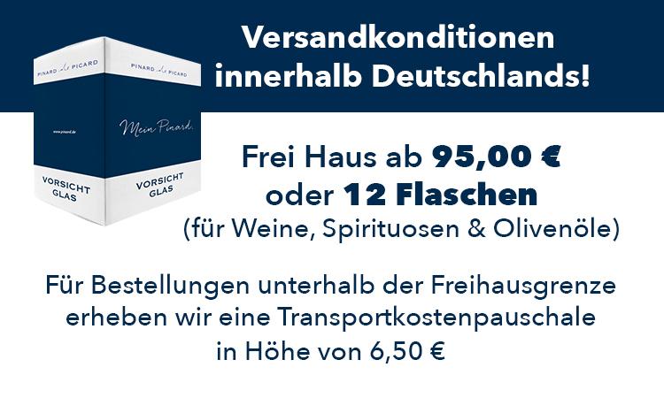 Neue Freihausgrende für Deutschland: 95 Euro oder 12 Flaschen