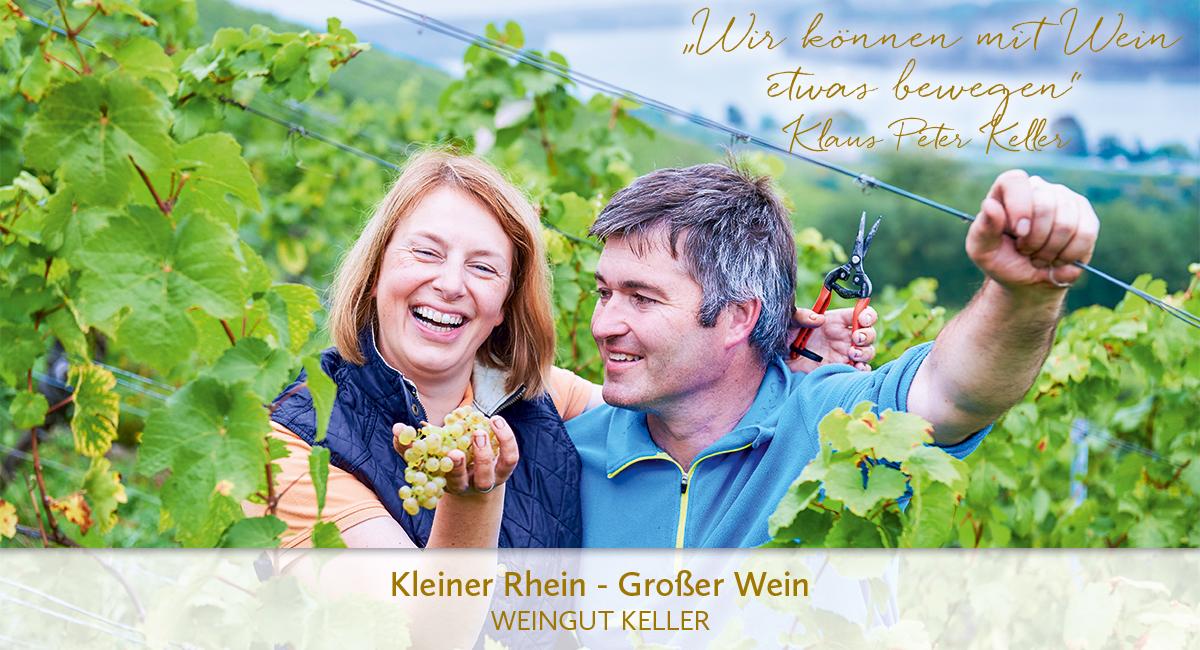 Weingut Keller - Kleiner Rhein, großger Wein