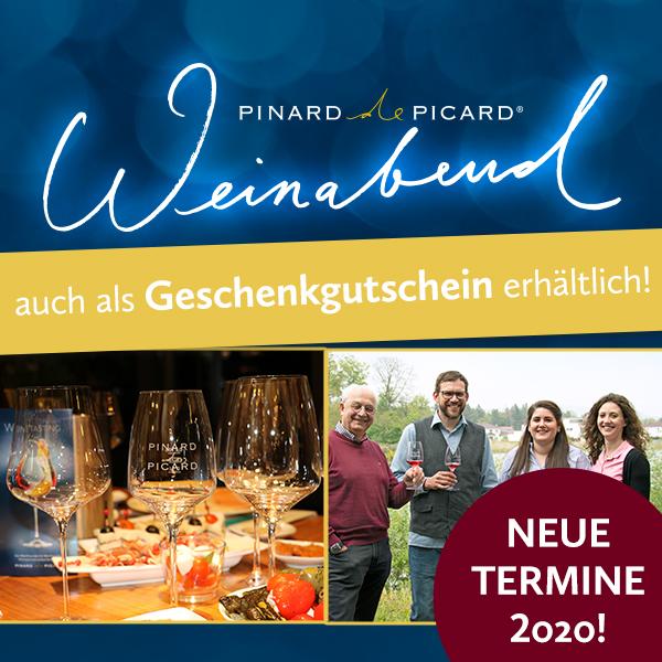 Weinabende und Seminare bei Pinard de Picard