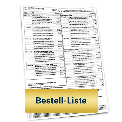Bestellliste als PDF als Download