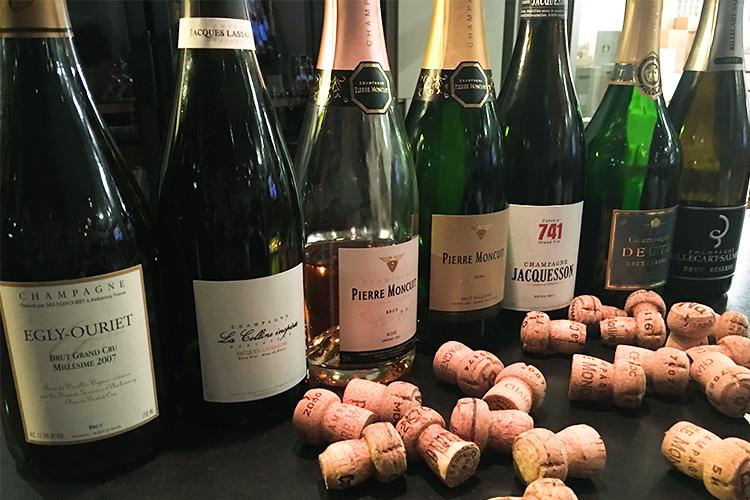 Champagnerverkostung bei Pinard de Picard