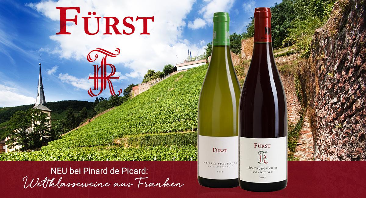 Neu bei Pinard Weingut Fürst
