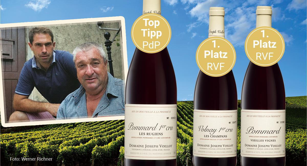 Großartige Pinots aus Volay und Pommard