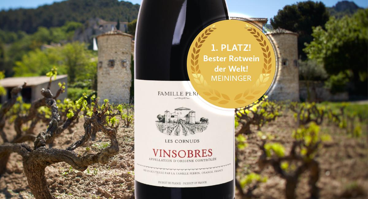 Der beste Rotwein weltweit! Für nur 11,90 Euro!