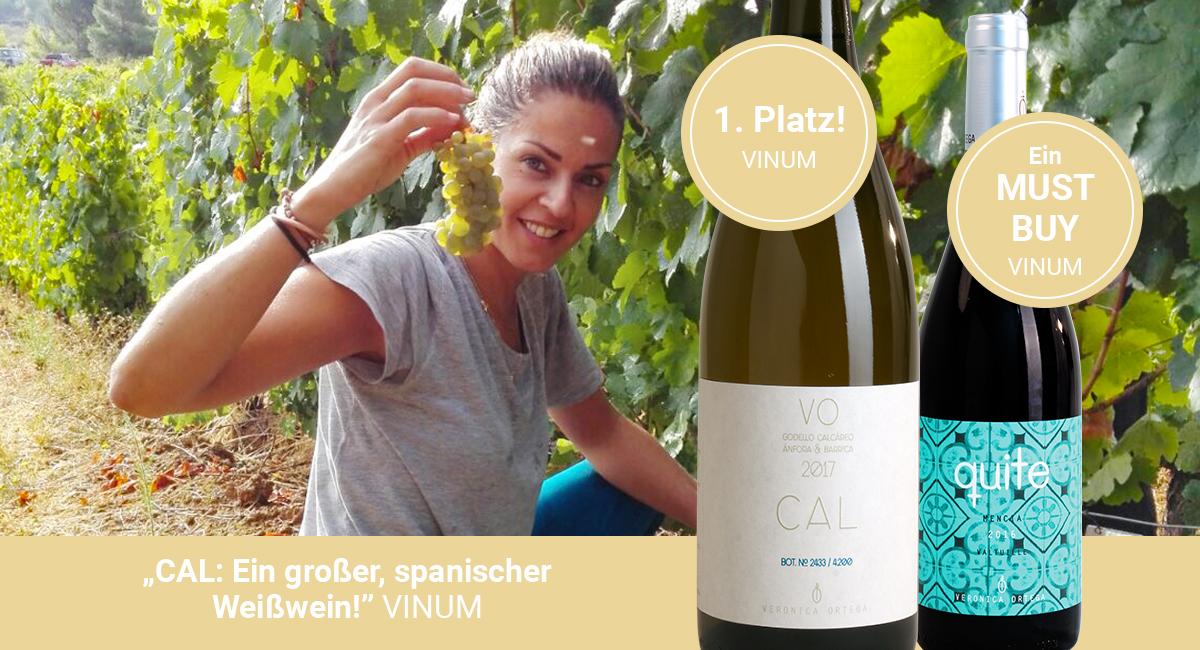"""CAL: Ein großer, spanischer Weißwein!"""" VINUM"""