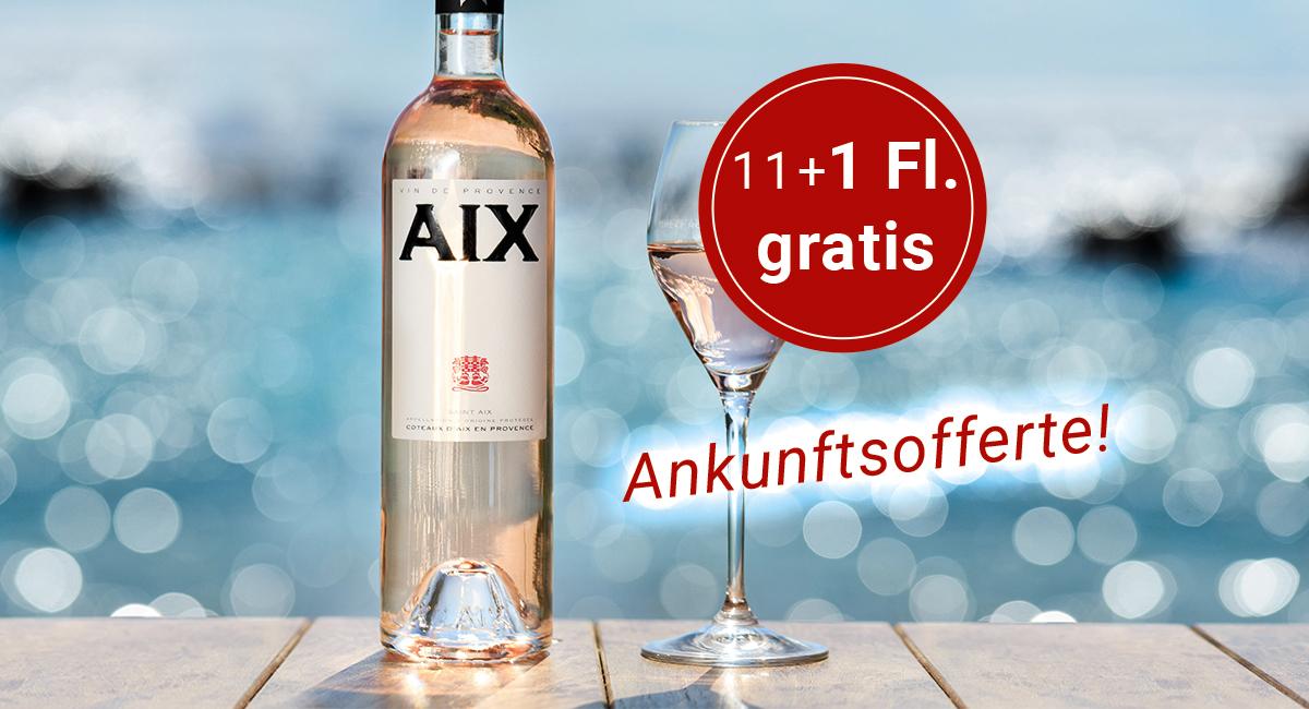 Aix Ankunftsofferte