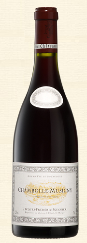 J.F. Mugnier, Chambolle Musigny, rouge  2012