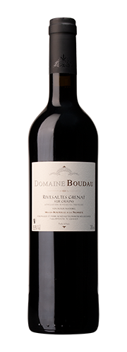 Boudau, Boudau, VDN Rivesaltes sur Grains, Vin doux naturel rouge 2011