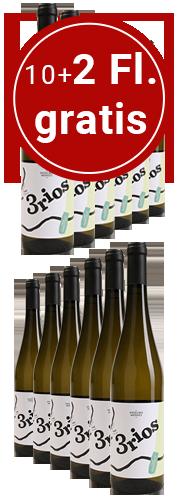 Tres Rios branco (12 Flaschen)
