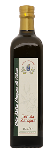 """Tenuta Zangara"", Olivenöl Extra Vergine"