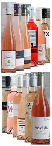 Rosé-Probierpaket Sommer