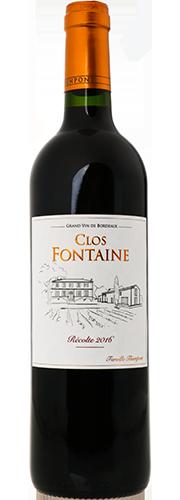 Château Clos Fontaine, Côtes de Francs, rouge