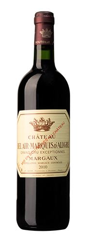 Bel Air-Marquis d'Aligre, Margaux, Grand Cru Exceptionnel, rouge 2010
