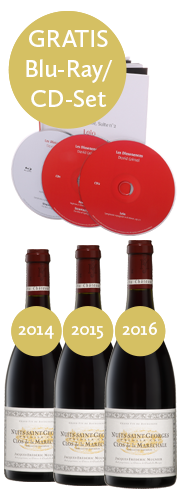 """Clos de la Maréchale""-Vertikale 2014/2015/2016 + ""Les Dissonances"" CD/BlueRay-Set"