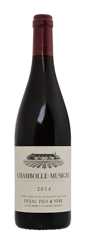 Dujac, Chambolle Musigny, rouge  2014