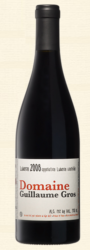 Gros, Guillaume Gros, Domaine Guillaume Gros, rouge 2008