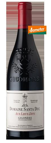 """Gigondas """"Aux Lieux-Dits"""", rouge"""