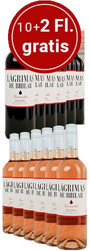 Probierpaket Lagrimas de Bhilar, 2 x 6 Flaschen