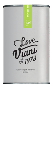 "Viani, ""True Love"" Olio Viani Natives Olivenöl Extra mittelfruchtig (0,5l)"