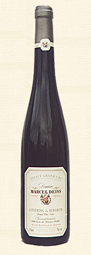Hispasur, Deiss, Gewürztraminer Altenberg de Bergheim, Sélection de grains nobles 1994
